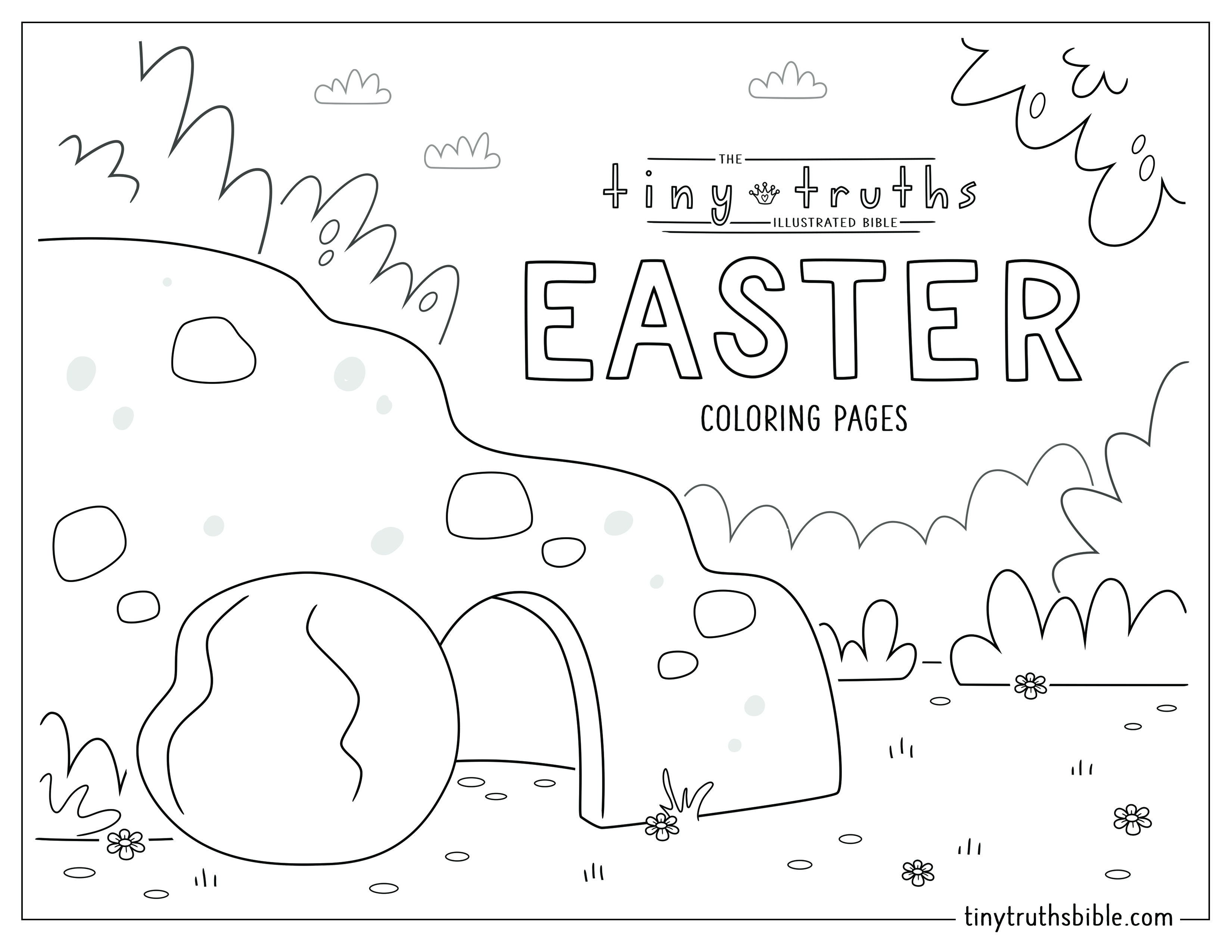 Tiny Truths Coloring Pages