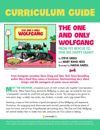 The One and Only Wolfgang Educator Guide