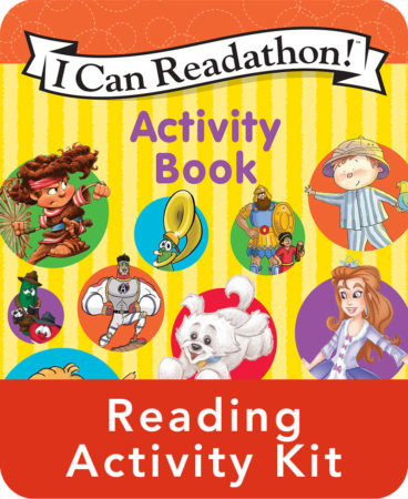 I Can Read Activity Book