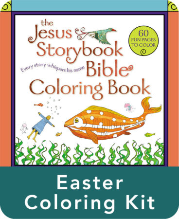Jesus Storybook Bible Easter Coloring Kit