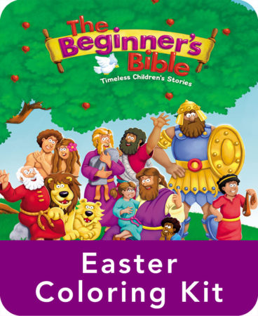The Beginner's Bible Easter Coloring Kit