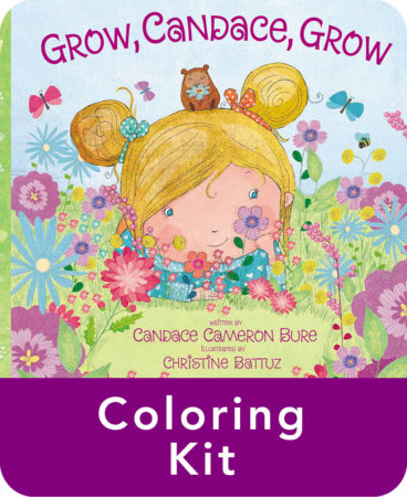 Grow Candace Grow by Candace Cameron Bure Coloring Pages