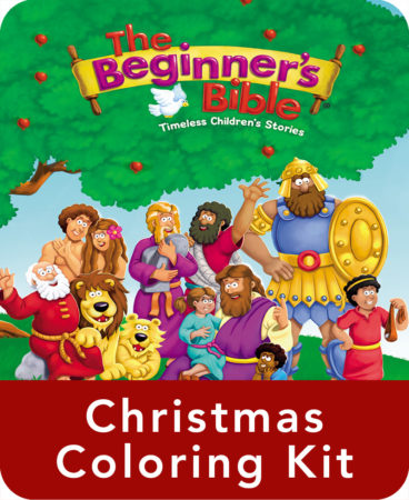 The Beginner's Bible Christmas Coloring Kit