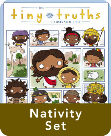 Tiny Truths Illustrated Bible Nativity Set