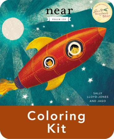 Near by Sally Lloyd-Jones Coloring Kit