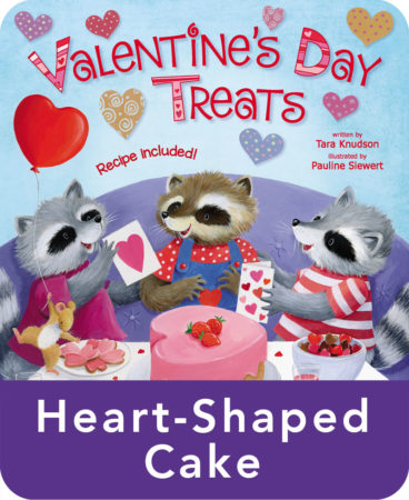 Valentine's Day Treats Heart-Shaped Cake