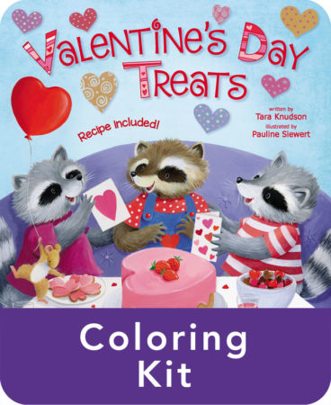 Valentine's Day Treats Coloring Kit