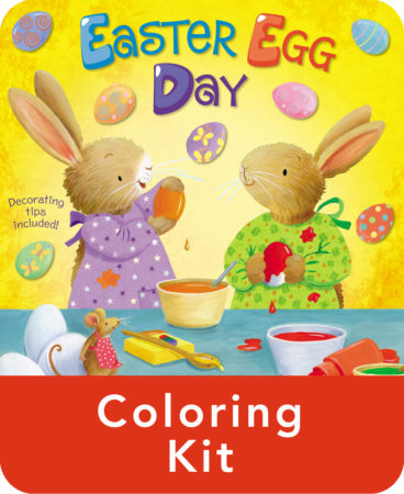 Easter Egg Day Coloring Kit