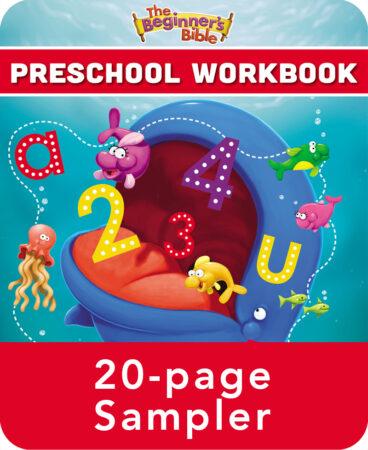 The Beginner's Bible Preschool Workbook Sampler